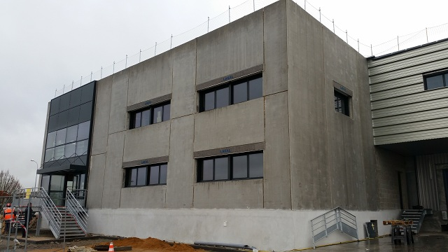 premur calepinage structure beton