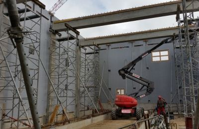 Construction Prefabrication Dalle Portee